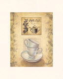 Tea for Two Prints by Valerie Sjodin