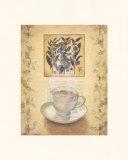 Tee gezeichnet Kunst von Valerie Sjodin