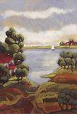 Lago Gardi II Prints by  Mindeli