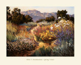 Spring Trails Print by Ellie Freudenstein