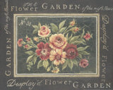 Flower Garden No. 35 Prints by Kimberly Poloson