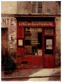 Vins de Bourgogne Posters by Chiu Tak-Hak