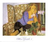 Sillon Dorado I Prints by Alfredo Roldan