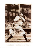 Babe Ruth the Sultan of Swat Print