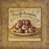Profiteroles Posters by Charlene Winter Olson