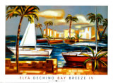 Bay Breeze IV Prints by Elya de Chino