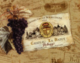 Chateau la Batut Prints by Pamela Gladding