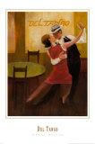 Del Tango Posters by Dawna Barton