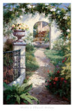 Flowered Archway Prints by  Haibin