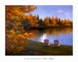 Forever Autumn Prints by Diane Romanello
