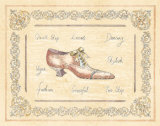 Vogue Shoe Prints by Banafshe Schippel