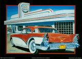 Route 66 Diner Print by Don Stambler