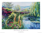 Giverny in Bloom Posters by Linda Lee