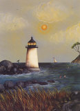 Coastal Harbor Light Prints by Jessica Fries