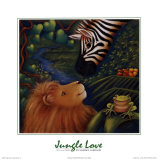 Jungle Love I Prints by Marisol Sarrazin