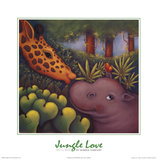Jungle Love III Prints by Marisol Sarrazin
