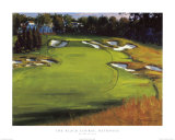 18th Hole Beth Page Posters por Edward Martinez