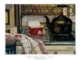 Frühstückstee Poster von Deborah Chabrian