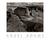 Canyon de Chelly, på engelsk Poster af Ansel Adams
