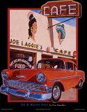 Café de Joe et d'Aggie Affiches par Don Stambler
