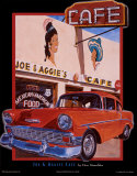 Joe & Aggies Cafe Prints by Don Stambler