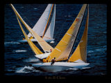 8 Meter JI Class Prints by Philip Plisson