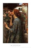 The Soul of the Rose, 1908 Affiche par John William Waterhouse