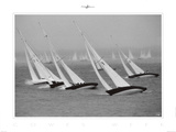 Cowes Week Posters by Philip Plisson