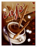 Cafe Pirouette Poster by Michael L. Kungl