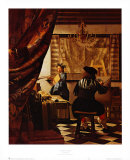 Artist's Studio Art by Jan Vermeer
