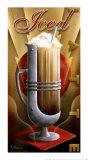 Eiskaffee Kunstdruck von Michael L. Kungl