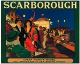 Scarborough Posters by F. Woolrich