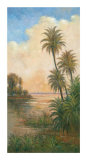 Tropical Serenity I Prints by J. D. Davidson