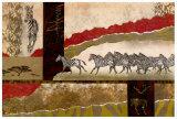 Cebras del Serengeti Pósters por Joseph Poirier