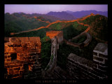 The Great Wall of China Poster van Yann Layma