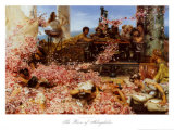 The Roses of Heliogabalus Print by Sir Lawrence Alma-Tadema