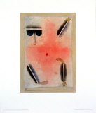 Hat Kopf, Hand, Fuss, 1930 Prints by Paul Klee