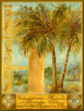 Alexander Palm - Bordure dor&#233;e Affiche mont&#233;e par Shari White