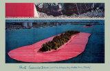 Christo - Surrounded Islands, 1982 Obrazy