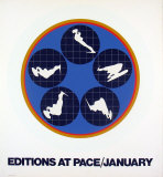 Editions at Pace, 1969 Serigraph by Ernest Trova
