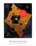 Akzent in Rosa, 1926 Print by Wassily Kandinsky