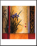 Garden Gateway Mounted Print by Don Li-Leger