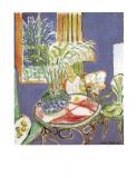 Petit Interieur Bleu, 1947 Posters av Henri Matisse