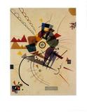 Ringsum 1924 Poster von Wassily Kandinsky