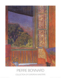 La Fenetre Ouverte 1921 Affiches par Pierre Bonnard