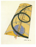 Kinetisch, 1922 Art by Laszlo Moholy-Nagy