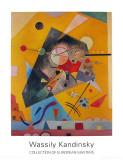 Stille Harmonie 1924 Obra de arte por Wassily Kandinsky