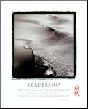 Leadership - Wave Mounted Print