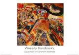 Pequeñas alegrías, 1913 Pósters por Wassily Kandinsky
