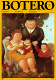 La Famiglia Prints by Fernando Botero